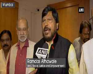 Ramdas Athawale to stay with NDA, demands two seats for RPI A [Video]