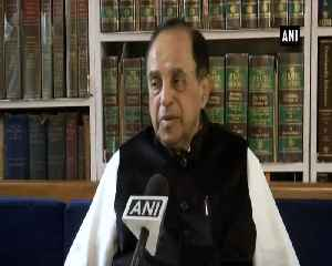 To offer prayer at Ram Janmabhoomi is my fundamental right Subramanian Swamy [Video]