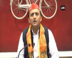 BJP only talks about MSP but never fulfills it Akhilesh Yadav [Video]