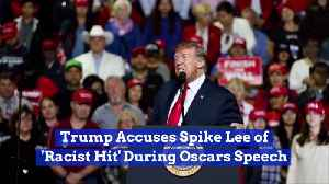 Trump Claims Spike Lee Is Racist Against Him [Video]