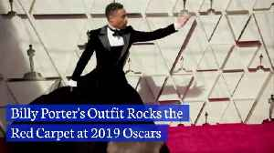 Check Out Billy Porters Oscar Red Carpet Look [Video]