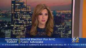 Public Advocate Special Election Today [Video]