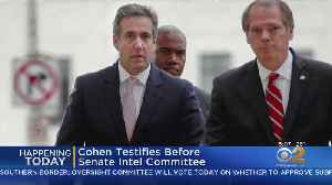 News video: Michael Cohen To Testify Today On Capitol Hill
