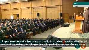 Iranian Foreign Minister Zarif at frontline of battle against America - Rouhani [Video]