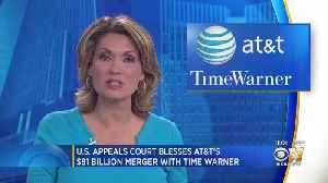 Appeals Court Upholds AT&T's $81B Time Warner Merger [Video]