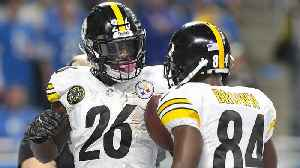 How NFL Combine Will Change Value of Antonio Brown, Le'Veon Bell [Video]
