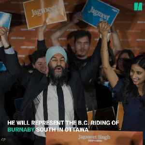 Jagmeet Singh Parties After Winning B.C. Byelection [Video]