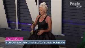 Lady Gaga's Oscars Dress by Brandon Maxwell Is Available to Buy for $6,495 [Video]