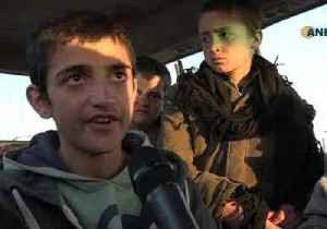 Yazidi Boys Kidnapped by Islamic State Arrive at SDF-Held Areas in Deir Ezzor [Video]