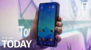 Energizer made a phone with an 18,000mAH battery | Engadget Today [Video]