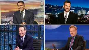 Late-Night Hosts Tackle Standout Moments From 2019 Oscars | THR News [Video]