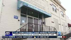 Civic Works expands Center for Sustainable Careers to new, bigger facility in East Baltimore [Video]