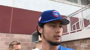 Yu Darvish on 1st start of spring training: 'No pain, that was a huge part' [Video]