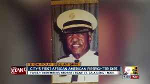 City's first African-American firefighter dies [Video]