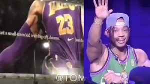 Ja Rule TROLLED For Calling Out Kings! LeBron James Nike Poster TORN DOWN After Loss To Grizzlies! [Video]
