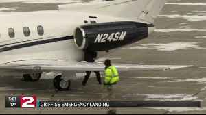 Emergency landing at Griffiss [Video]