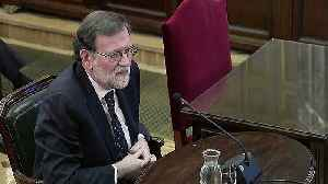Former Spanish PM Rajoy gives evidence at Catalan separatist trial [Video]