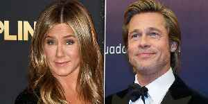 Brad Pitt & Jennifer Aniston Meet Up Again After Reuniting At Her 50th Birthday Party [Video]