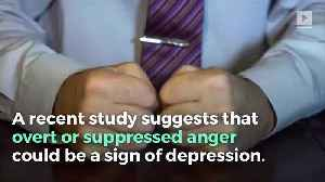 Anger Could Be a Sign of Depression, Study Says [Video]