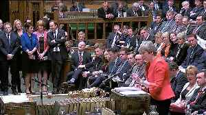 UK MPs vote overwhelmingly in favour of March vote on extension of Article 50 [Video]