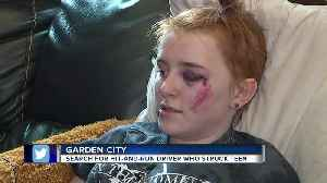 Garden City family seeks answers after 14-year-old girl is injured in hit and run [Video]