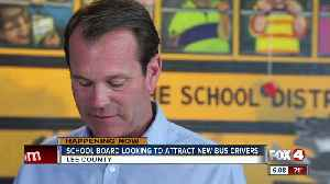 Bus driver incentive plan for Lee County Schools [Video]