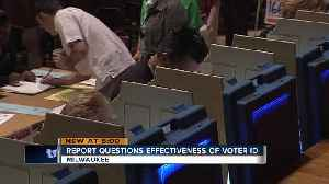 New report questions impact, effectiveness of voter ID laws [Video]