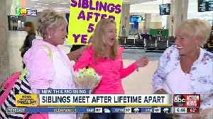 Siblings reunite after 53 years thanks to DNA test through Ancestry.com [Video]