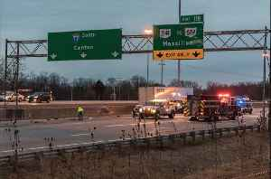 Jon Rudder gives update on serious crash on I-77 southbound at Arlington Road [Video]