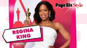 Regina King sizzled in a $2.5 million look to the Academy Awards [Video]
