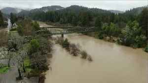 Russian River Rising Dangerously Fast [Video]