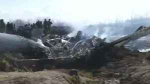 Indian air force plane crashes in Kashmir [Video]