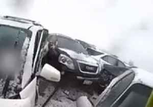 Sheriff's Office Releases Bodycam Footage Showing Aftermath of 131-Vehicle Pileup [Video]