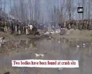IAF Jet crashes in JKs Budgam, two bodies found [Video]