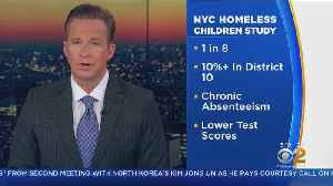 Study Examines Impact Of Homelessness On Students [Video]