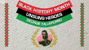 Unsung Heroes: George Taliaferro, the First Black Person Drafted in the NFL [Video]