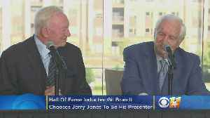 Hall Of Fame Inductee Gil Brandt Chooses Jerry Jones To Be His Presenter [Video]