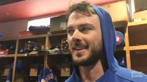Kris Bryant on Nolan Arenado's deal and Bryce Harper's free agency [Video]