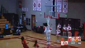Regis Basketball Star Fran Belibi Dunks- Again! [Video]