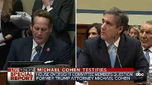Michael Cohen tells Rep. Rouda that President Trump misled or lied under oath [Video]