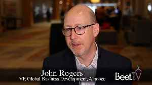 Amobee Seeing Linear-TV Budgets Converging With Connected TV: VP John Rogers [Video]