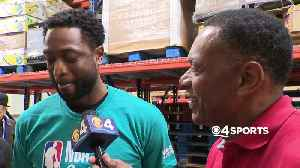 WEB EXTRA: Dwyane Wade Discusses His Final NBA Season During All-Star Weekend Festivities [Video]