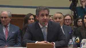 Former President Trump Lawyer Michael Cohen Testifies Before Congress [Video]