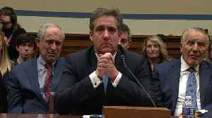 Cohen tears up at hearing end [Video]
