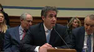 News video: Cohen: Trump feared audit if he released tax returns