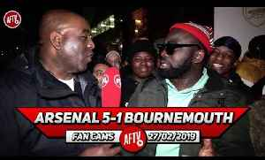 Arsenal 5-1 Bournemouth | The Performance Was Better Than Sex & Money Combined! (Kelechi) [Video]