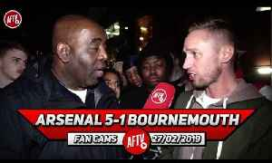Arsenal 5-1 Bournemouth | Ozil Was My Man Of The Match!! (Lee Gunner) [Video]