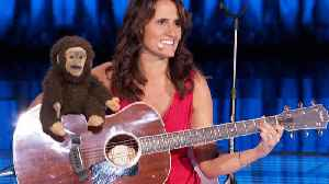 Dummy Monkey Hypnotizes Its Ventriloquist - Nina Conti's The World's Best Battle Round [Video]