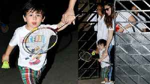 CUTE Taimur Ali Khan Plays Badminton With Mommy Kareena Kapoor | NEW VIDEO [Video]