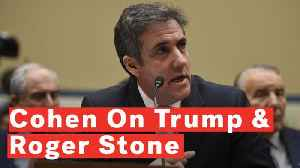 Cohen: Trump Knew Roger Stone Talked With WikiLeaks About DNC emails [Video]